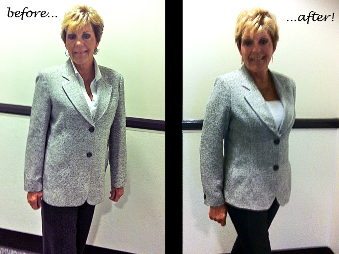 how to add shoulder pads to a jacket